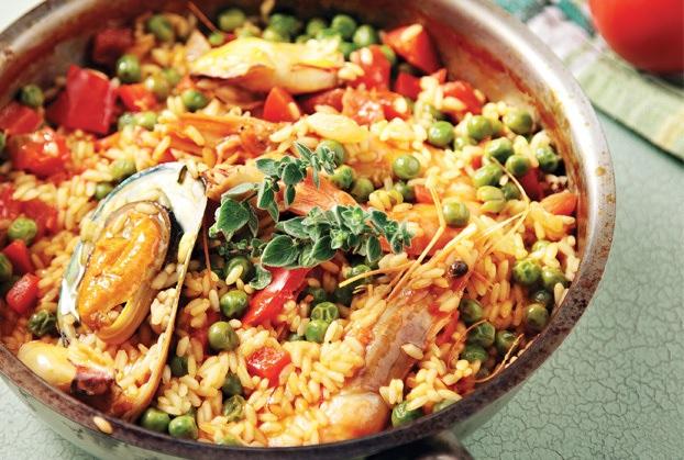 Συνταγή της ημέρας: Παέλια με θαλασσινά