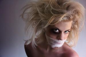 Κακοποιημένη γυναίκα
