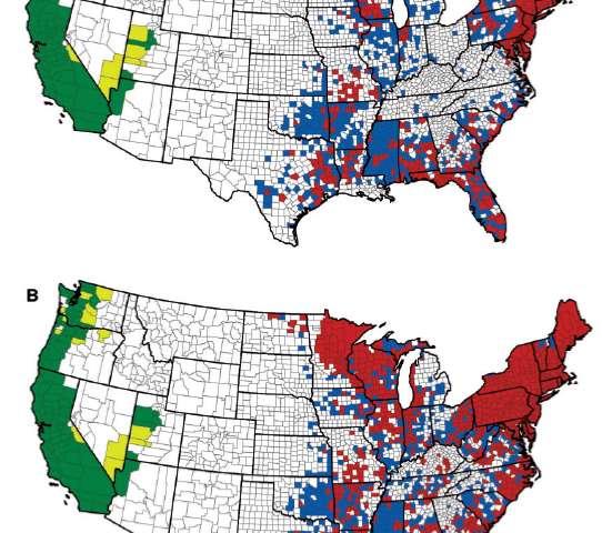 Κίνδυνος στην Αμερική από τη νόσο του Lyme