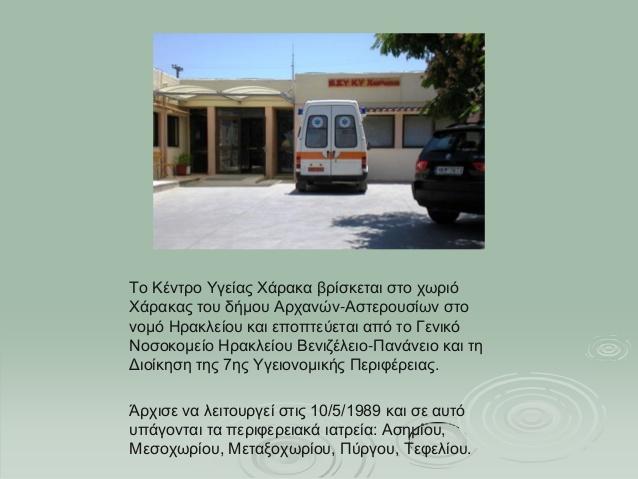 Κέντρο Υγείας Χάρακα