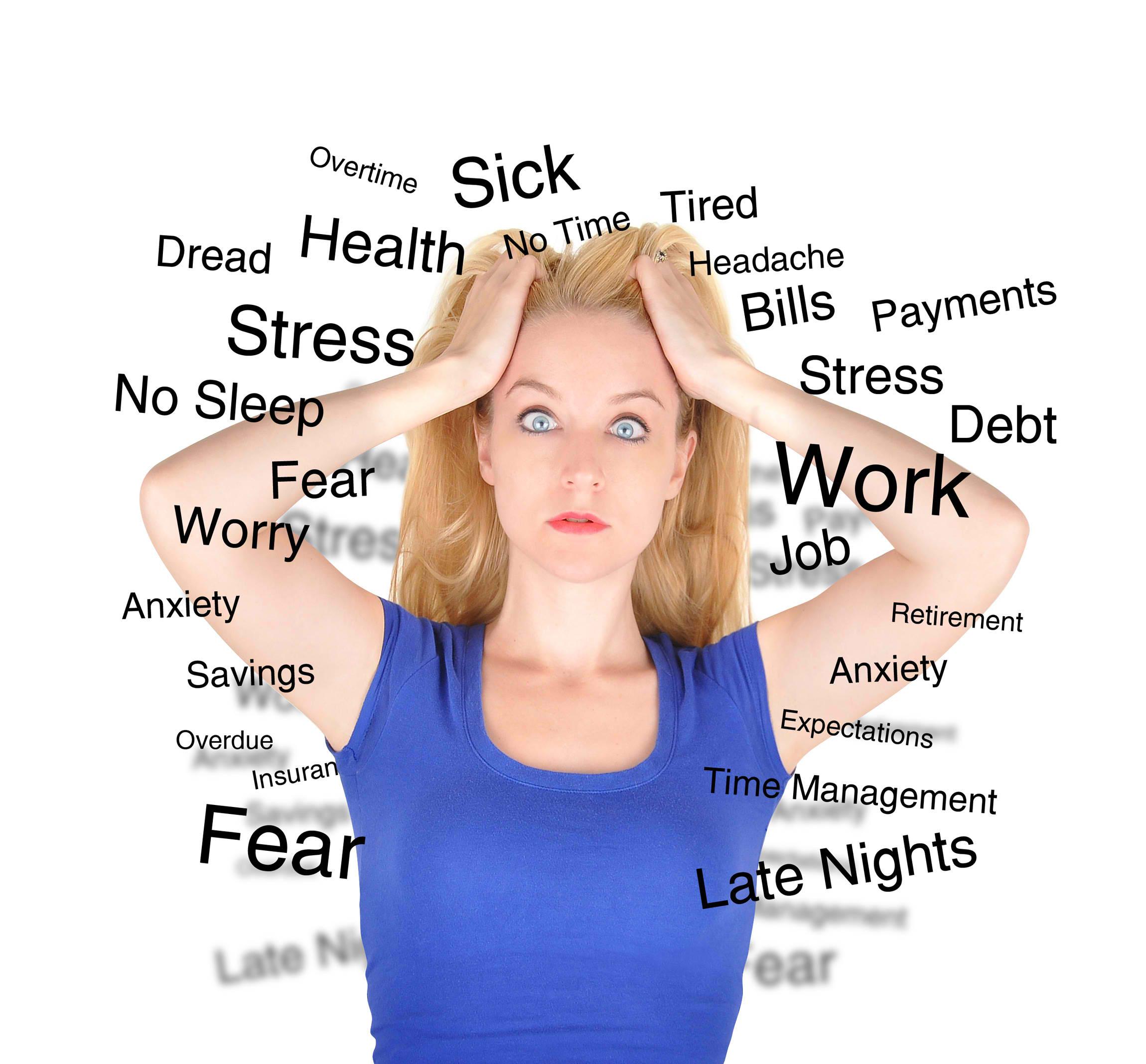 Συμπτώματα που δείχνουν ότι το άγχος σας επιδεινώνεται