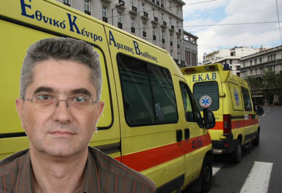 Αποκλειστικά στο healthweb.gr ο πρόεδρος του ΕΚΑΒ – Όλο το παρασκήνιο για την παραίτησή του