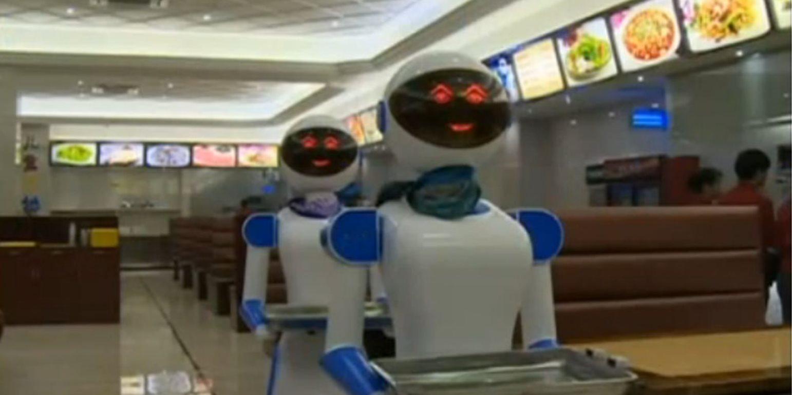 Υπηρεσία ρομπότ στη διαλογή απορριμμάτων