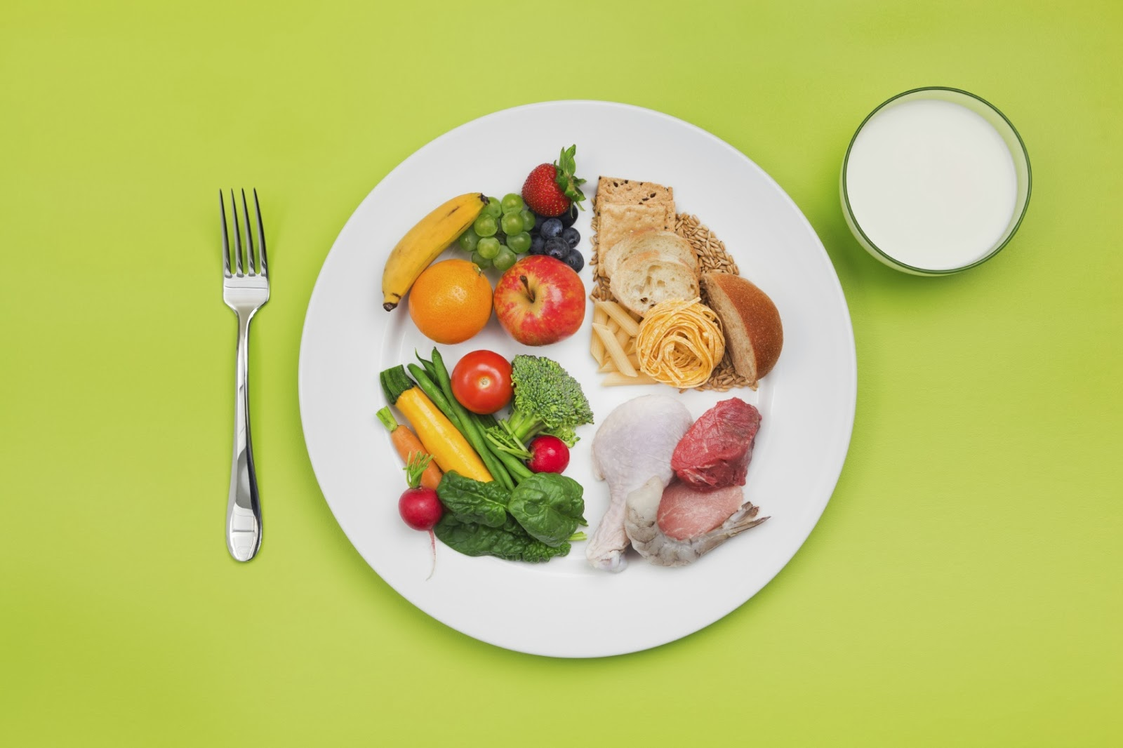 Μηνιαίο πρόγραμμα υγιεινής διατροφής για τα παιδιά