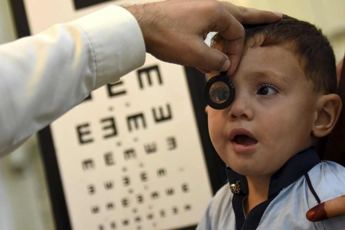 Νέα έρευνα για τη μυωπία στα παιδιά