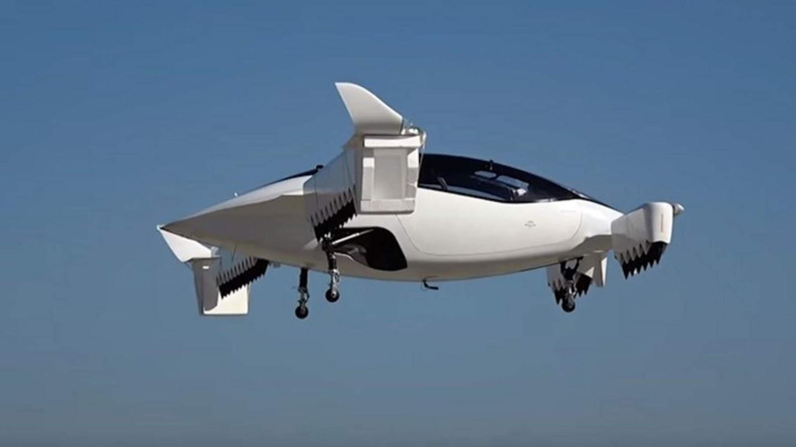 Στον αέρα το πρώτο ηλεκτρικό ιπτάμενο ταξί