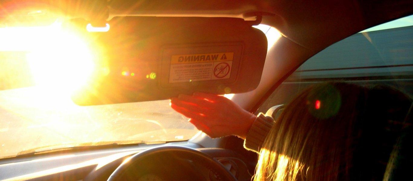 Μέτρα προστασίας για οδήγηση με καύσωνα