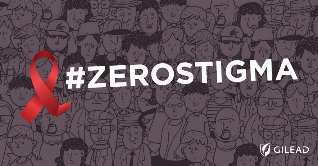 #ZeroStigma: Εκστρατεία ενάντια στο κοινωνικό στίγμα του AIDS από την Gilead Sciences Ελλάς