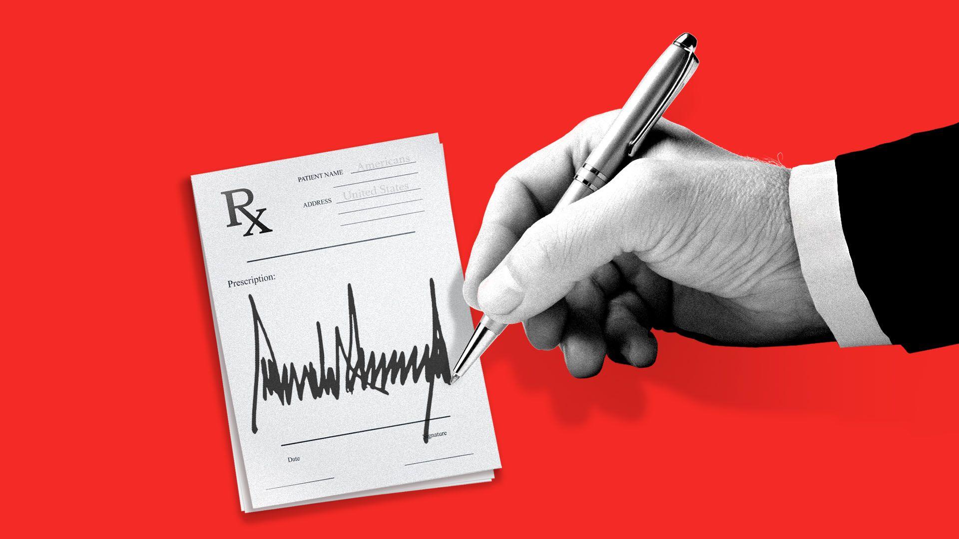 Πως ο Τραμπ επιχειρεί να καταπολεμήσει το υψηλό κόστος των φαρμάκων