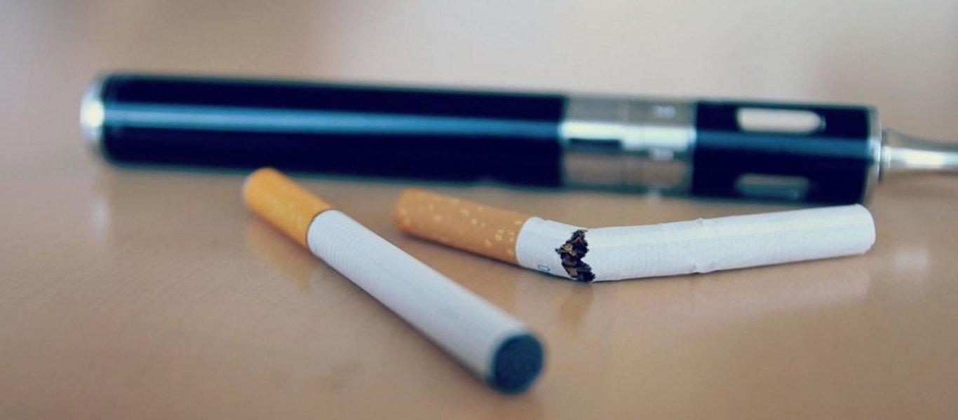 Αμερικανική έρευνα για την παράλληλη χρήση τσιγάρου και ηλεκτρονικού τσιγάρου