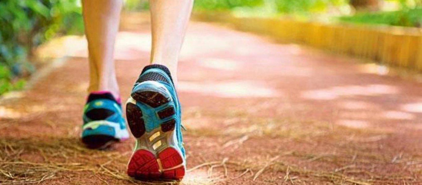 Αθλητισμός Περπάτημα Οφέλη: Εάν περπατάτε είναι πιο πιθανό να είστε δημιουργικοί και καινοτόμοι [vid]