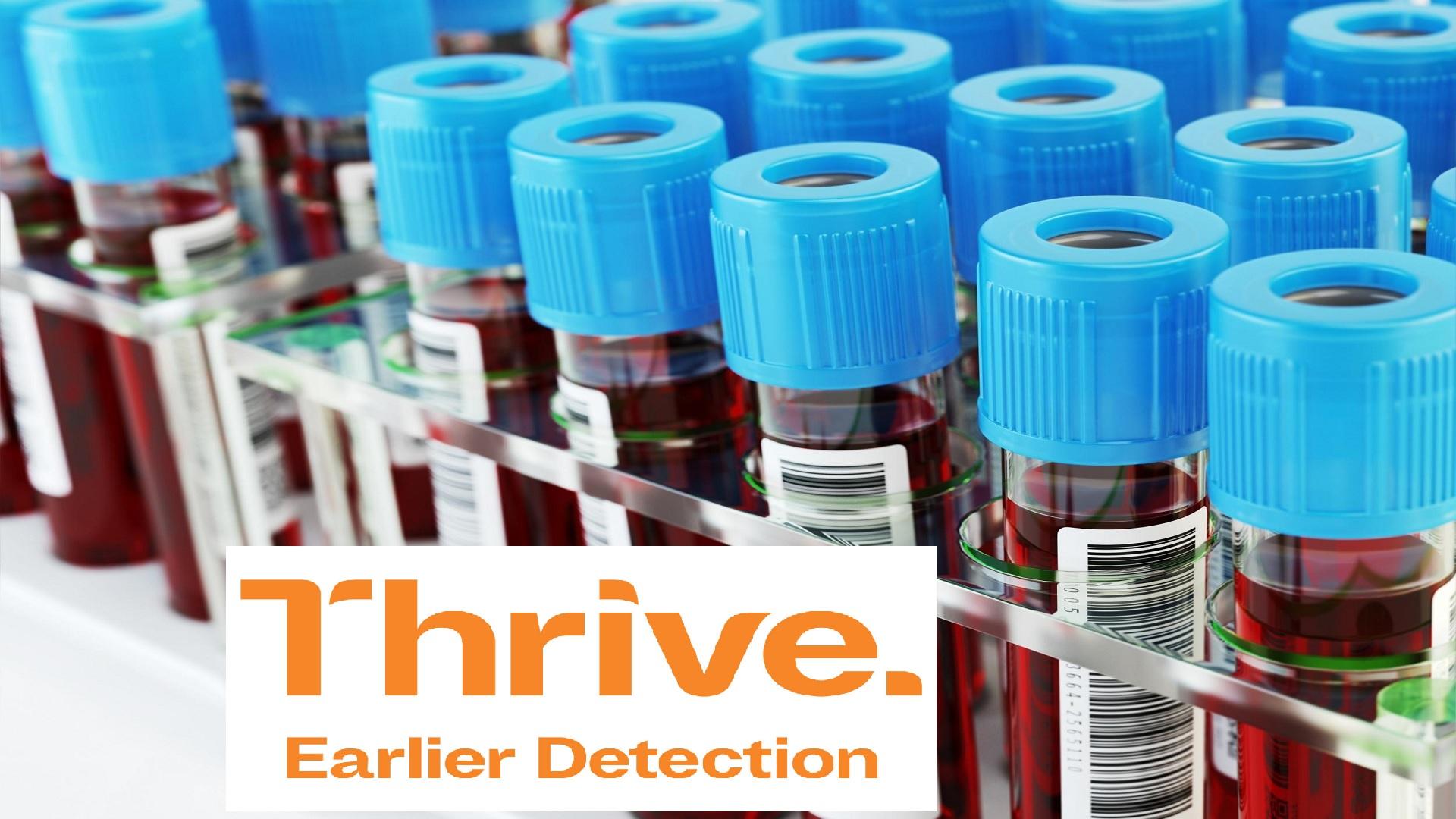 Η Thrive κοντά σε ανακάλυψη τεστ αίματος που ανιχνεύει τον καρκίνο