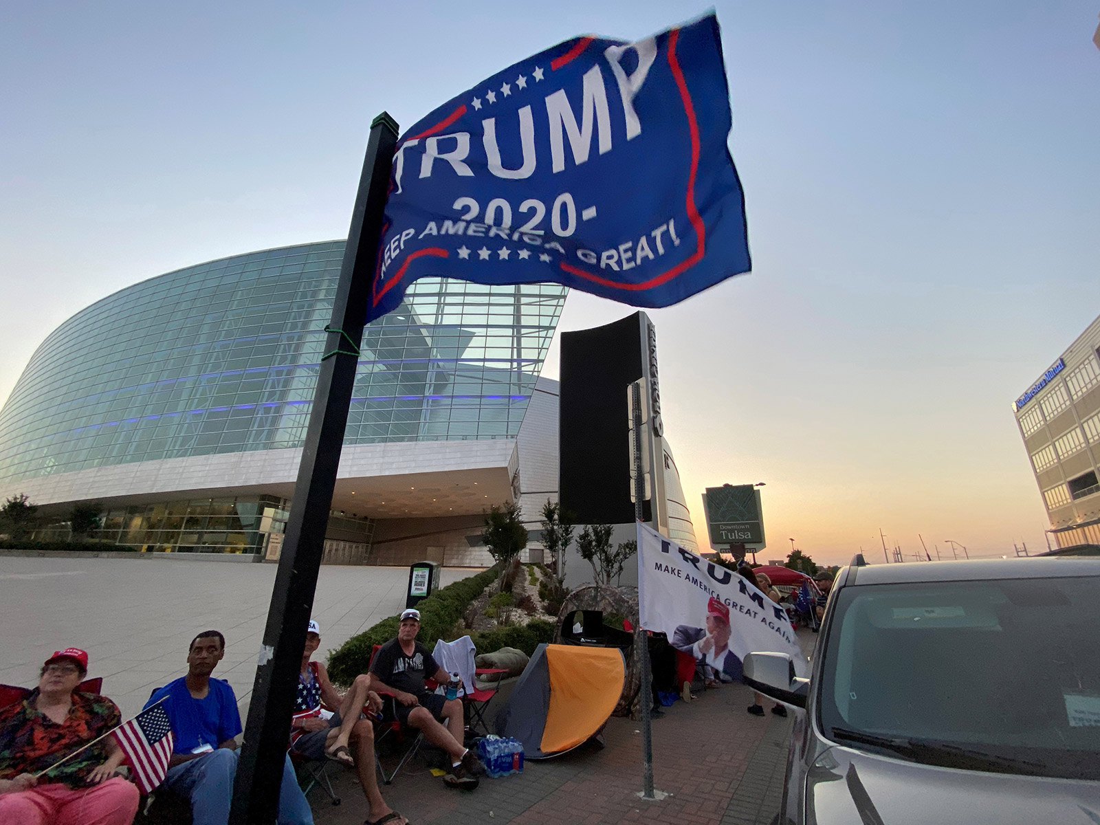 How risky is it to attend a Trump campaign rally during a pandemic?