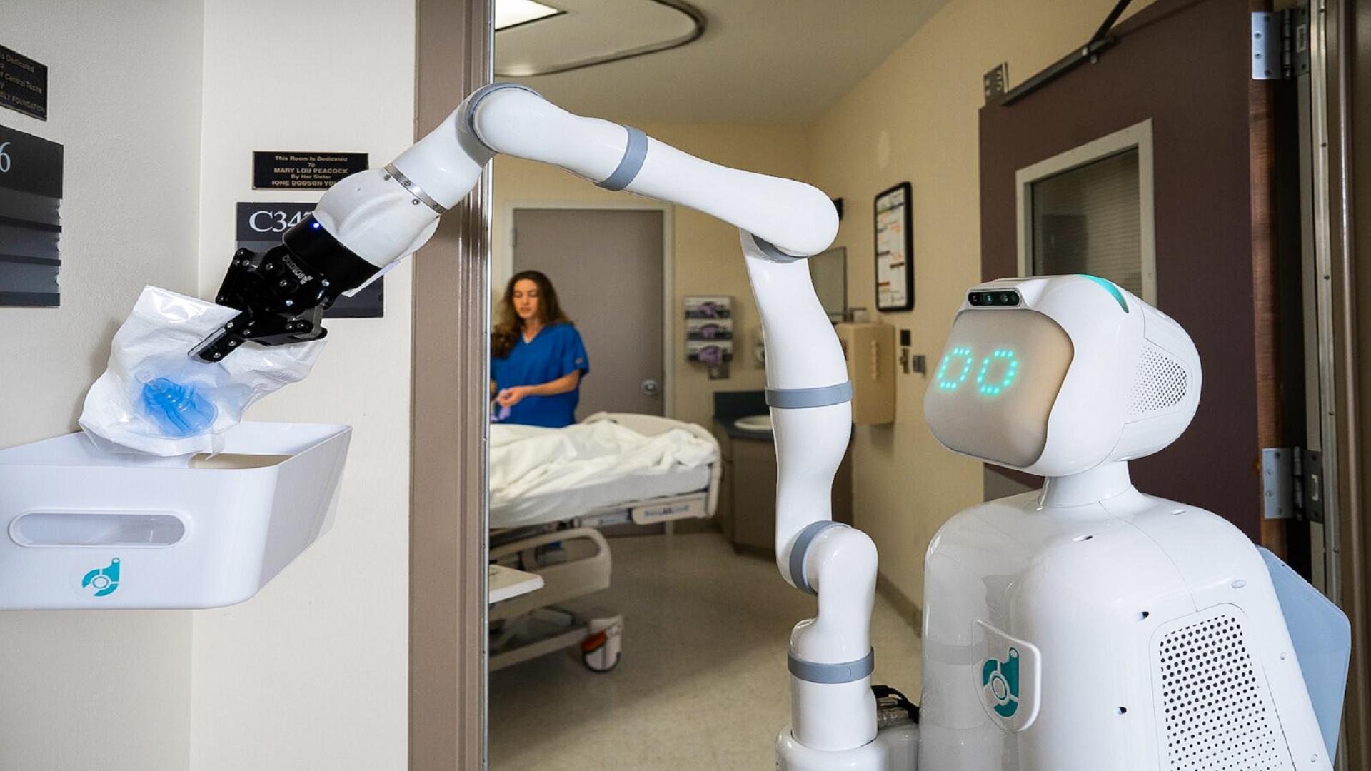 Πρωτοποριακό ανθρωποειδές χέρι για ρομπότ