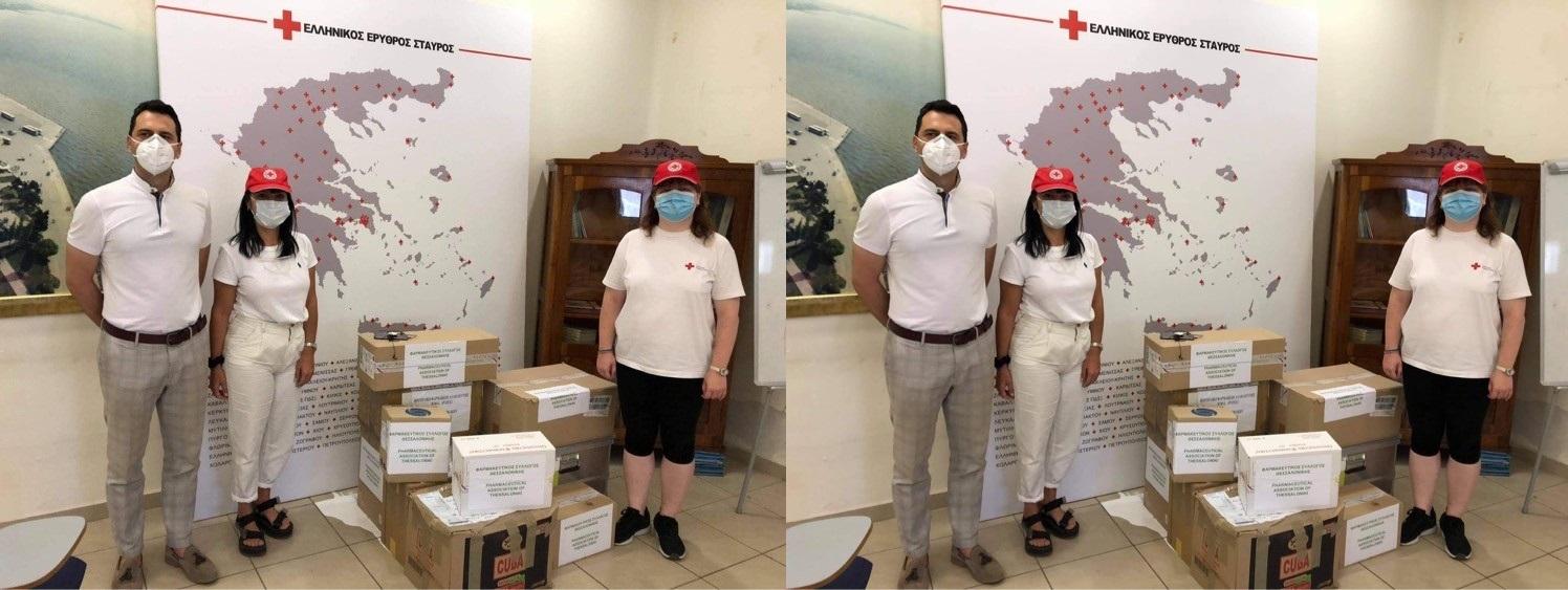 Φαρμακευτικός Σύλλογος Θεσσαλονίκης :Έστειλαν φάρμακα στους πληγέντες της Βηρυτού