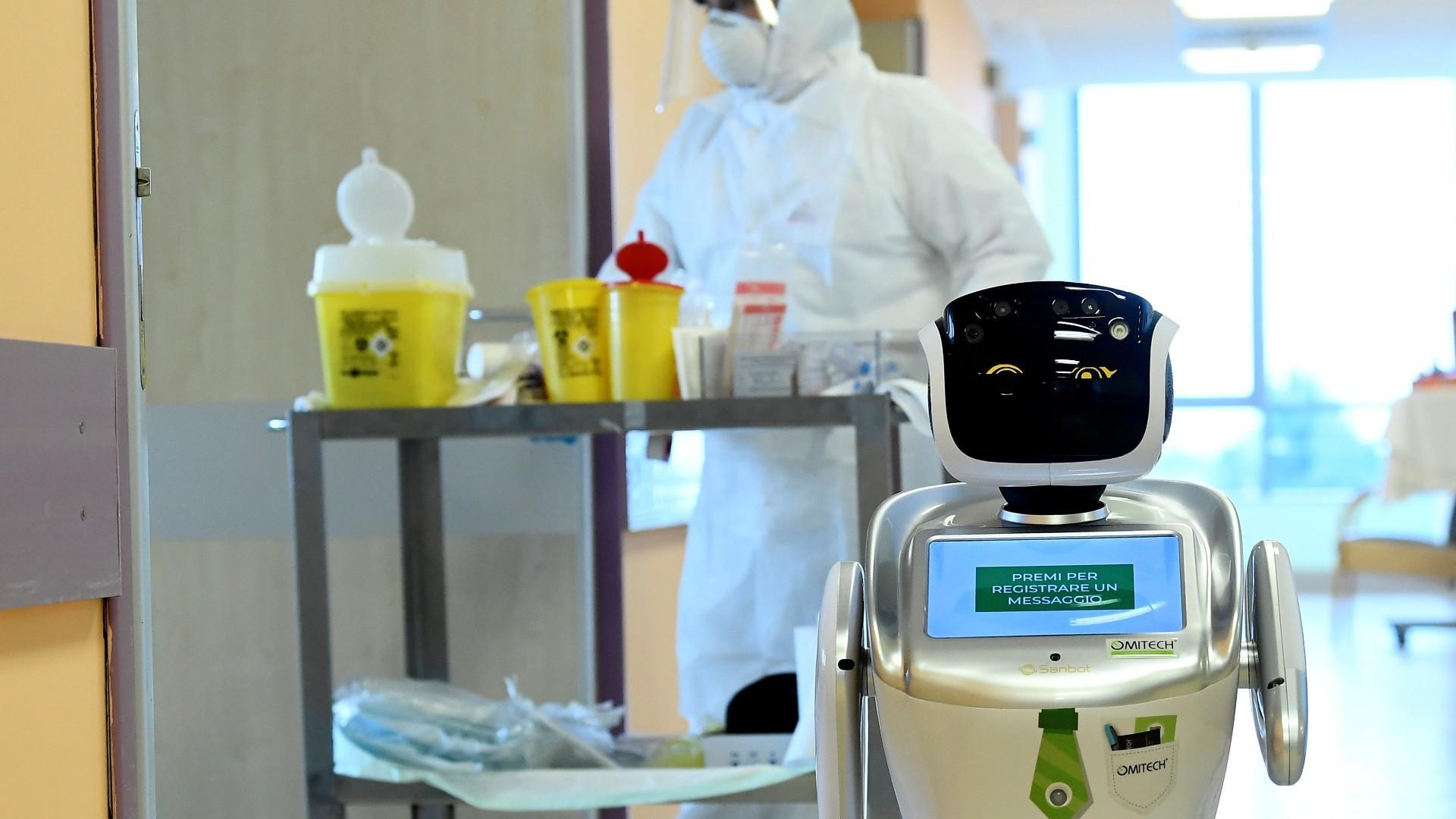 Ρομπότ για παρέα: καταπολεμούν τη μοναξιά σε ασθενείς με κορωνοϊό
