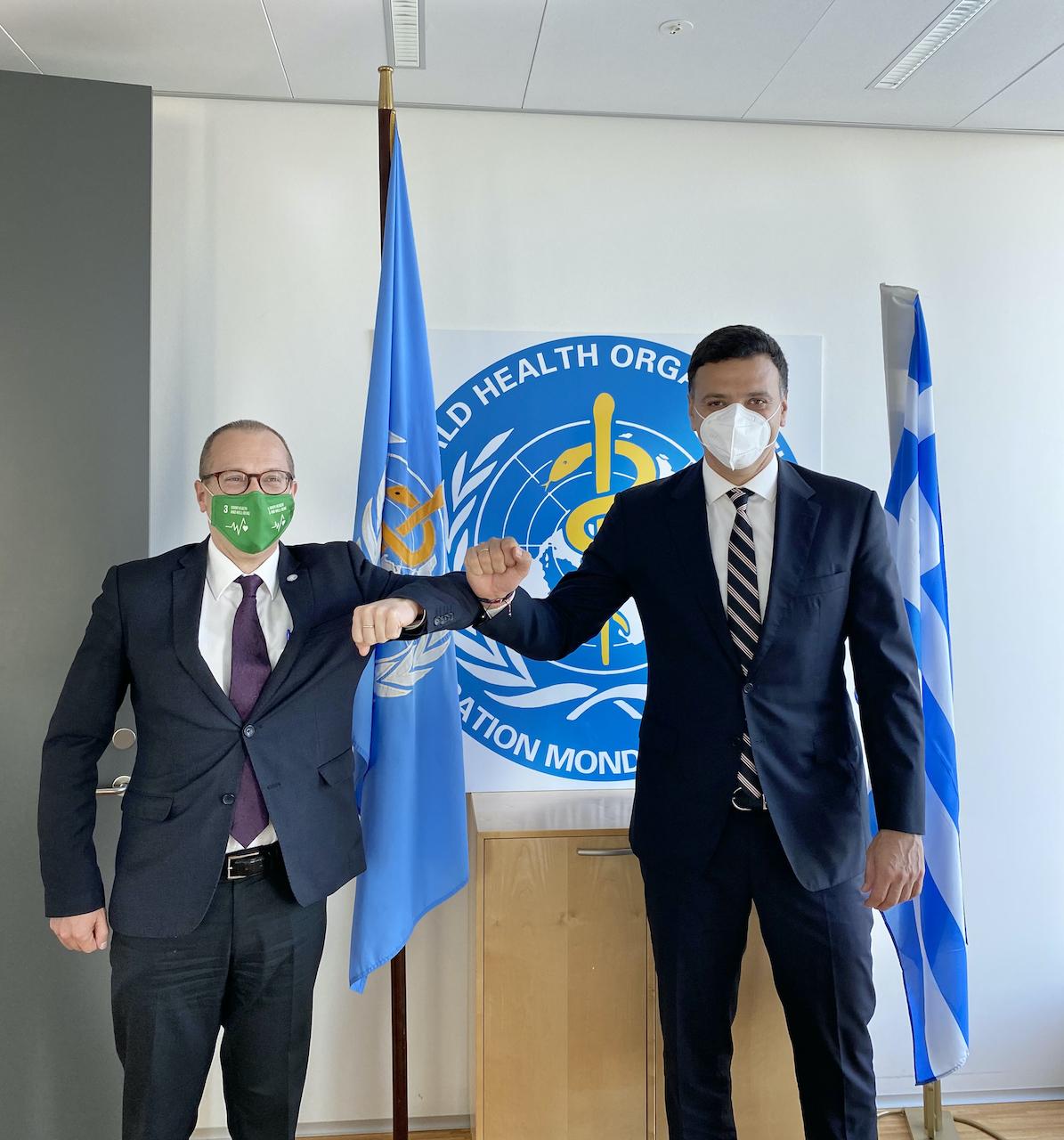 Παγκόσμιος Οργανισμός Υγείας: Στην Ελλάδα το νέο Γραφείο του ΠΟΥ Ευρώπης