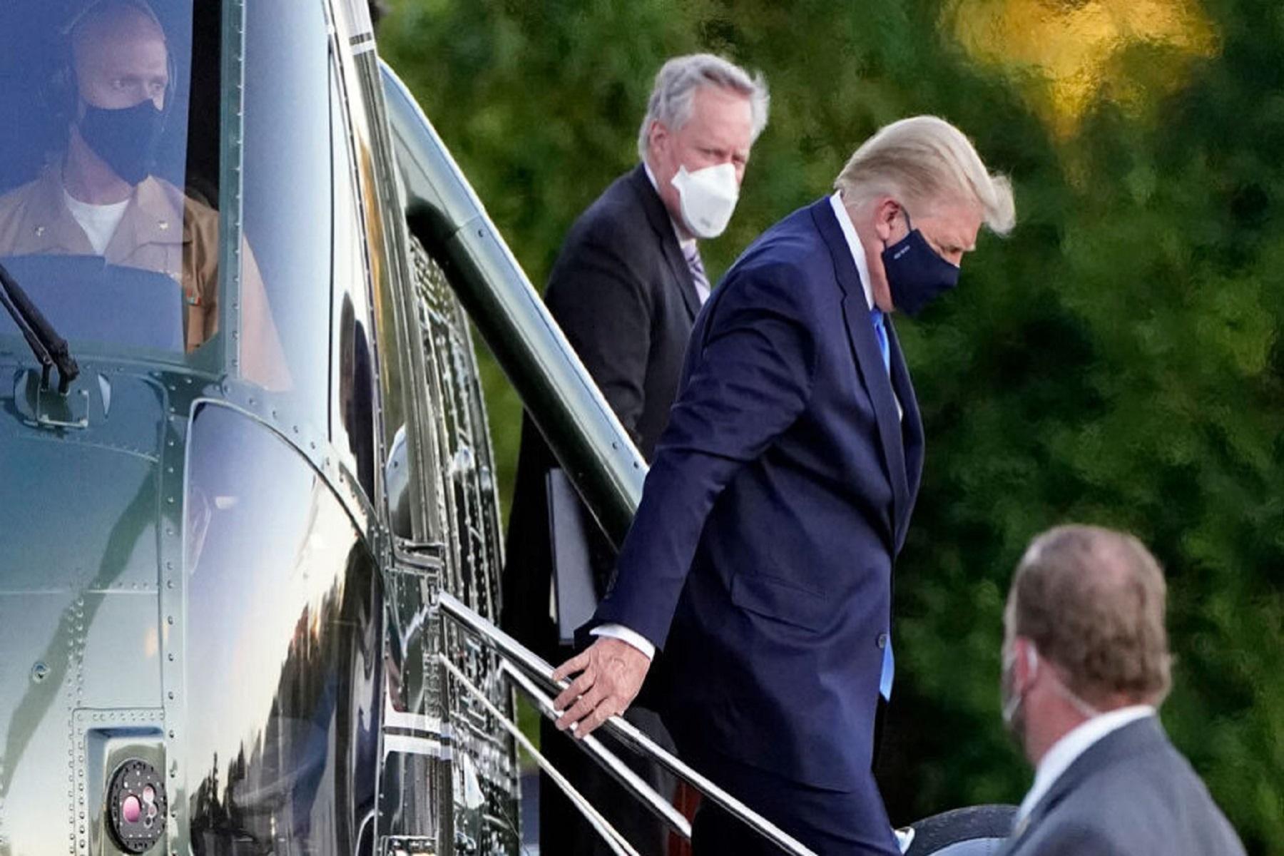 Μόσιαλος Θεραπεία: Περιγράφει το σχήμα θεραπείας του Τραμπ και αισιοδοξεί