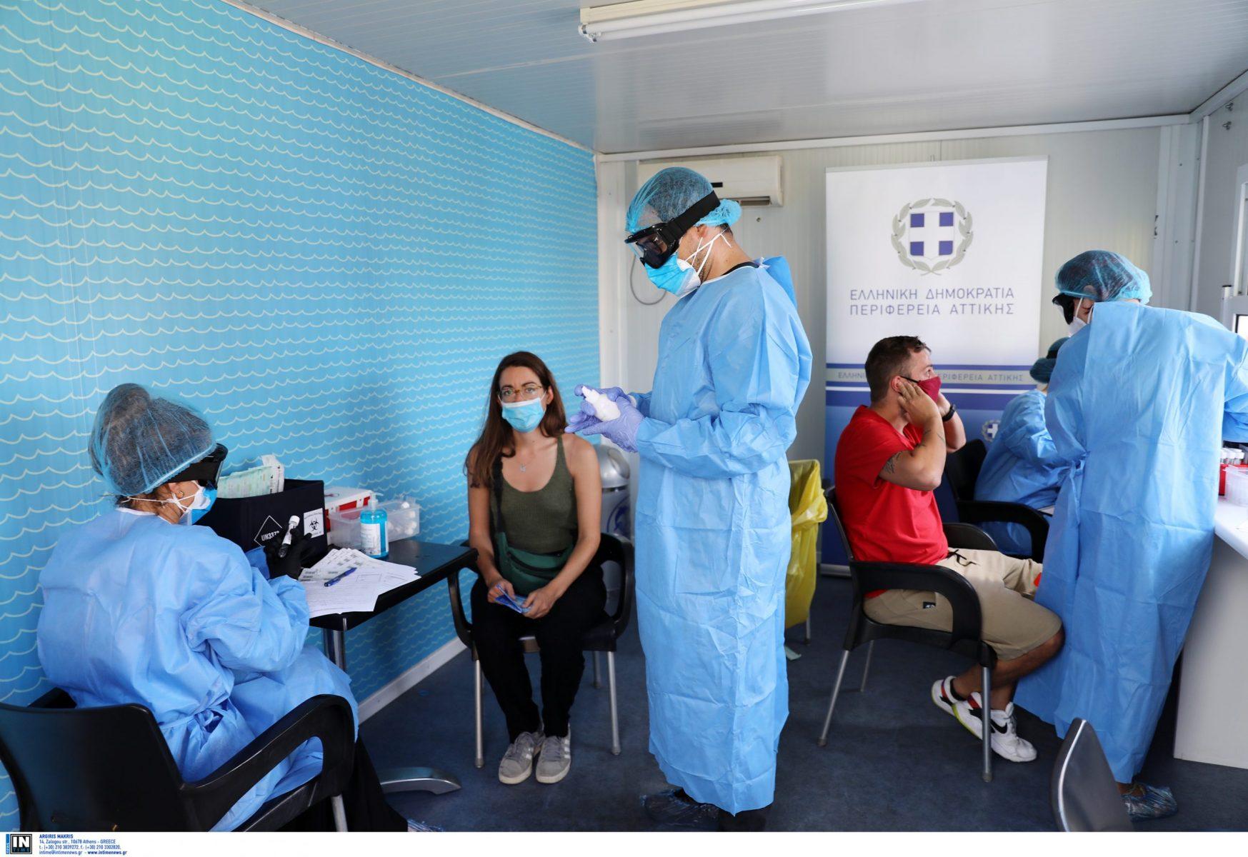 Rapid test: 1000 έλεγχοι, 8 θετικά τεστ στη Ν. Σμύρνη