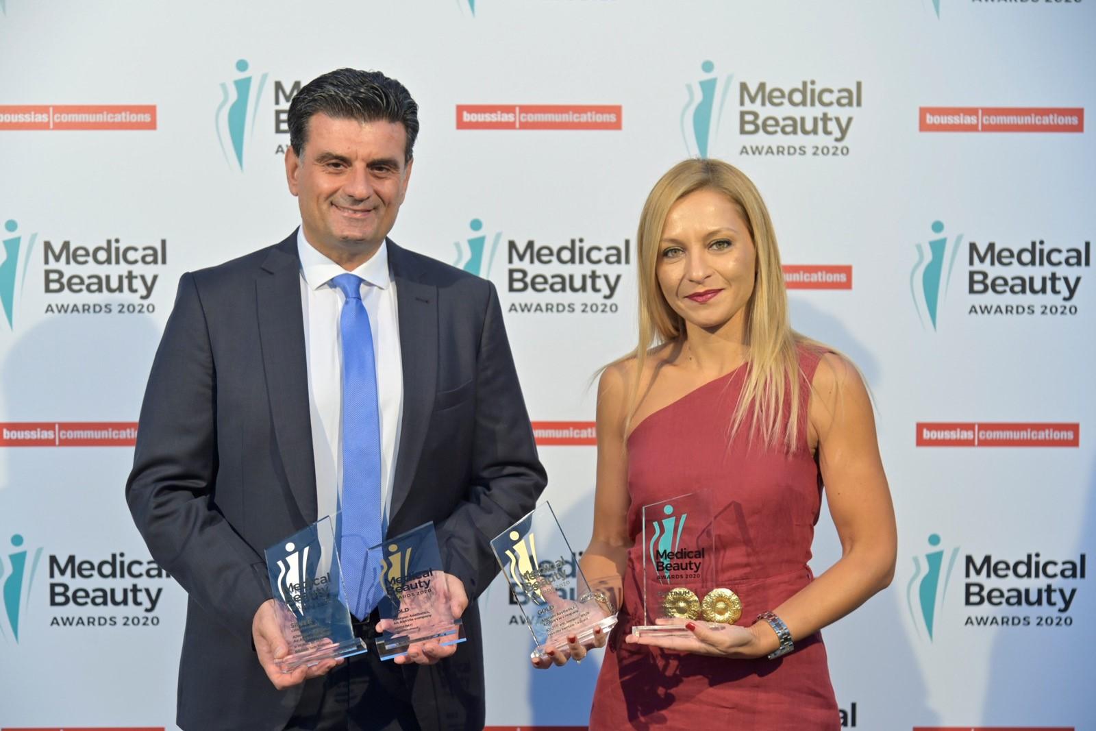 Allergan Aesthetics: Τέσσερις διακρίσεις στα Medical Beauty Awards 2020