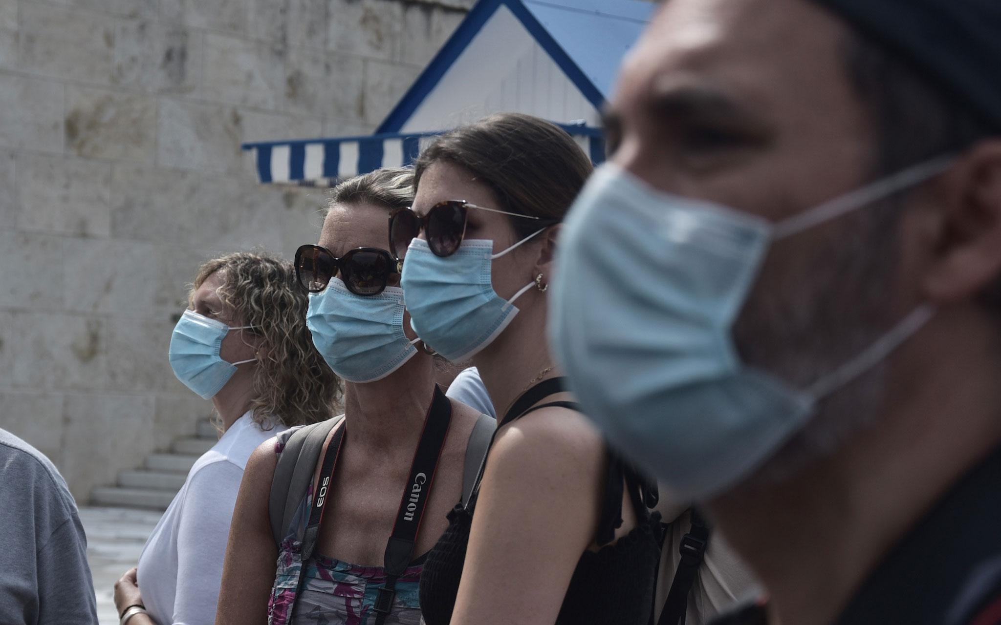 Κορωνοϊός κρούσματα: 841 νέα  -10 θάνατοι, 89 διασωληνωμένοι