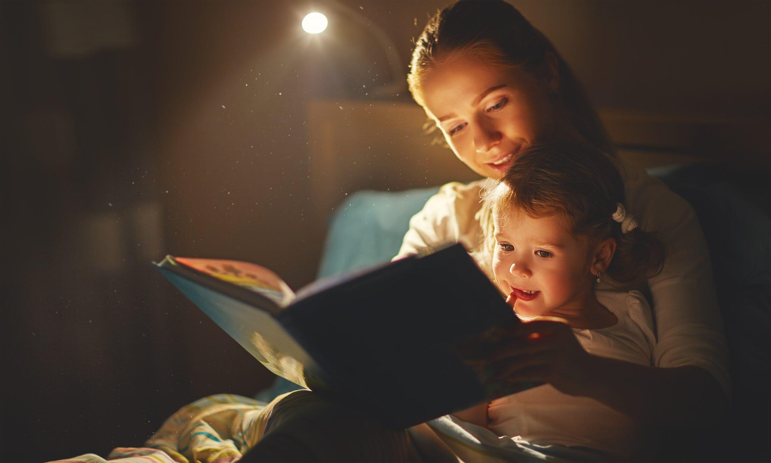 Παιδιά -Ύπνος: Προτιμήστε ένα παραμύθι από την τηλεόραση