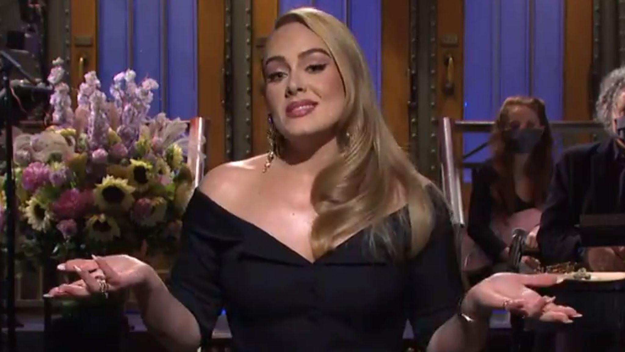 Adele κιλά: Αστειεύεται για την απώλεια των κιλών αλλά δεν μιλά για πολιτική
