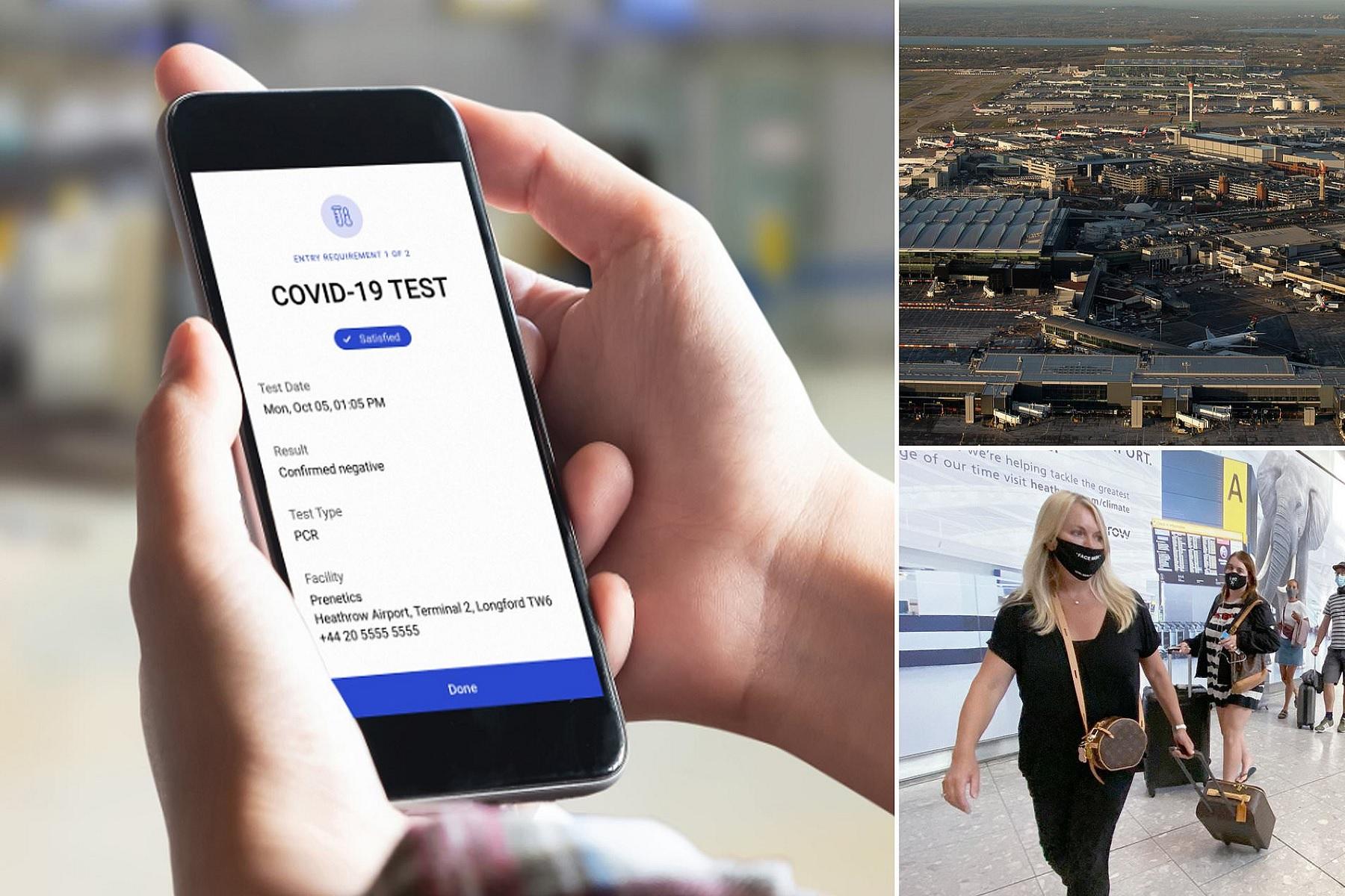 """Ψηφιακό διαβατήριο υγείας: """"Όπλο"""" των ταξιδιωτών κατά του κορωνοϊού"""