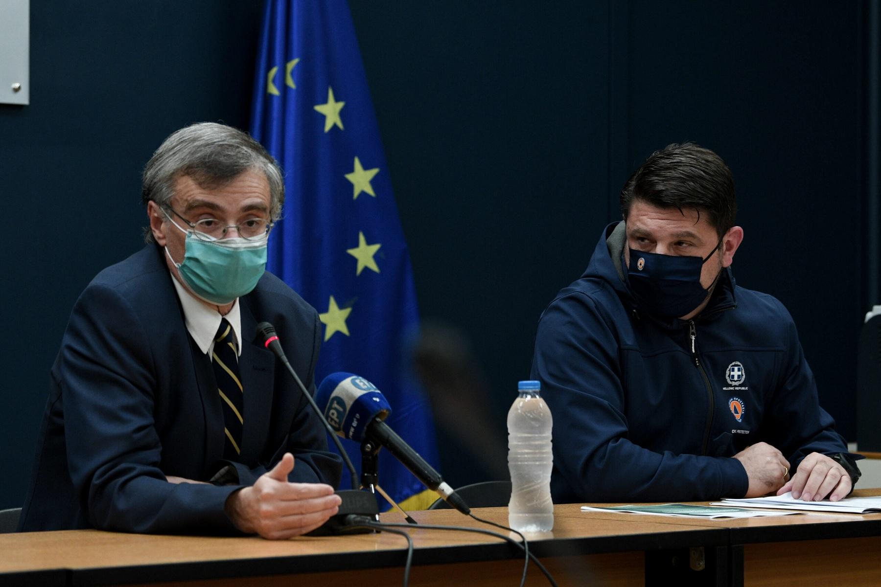 Τσιόδρας Κορωνοϊός: Ανησυχητική η επανεμφάνιση του καθηγητή