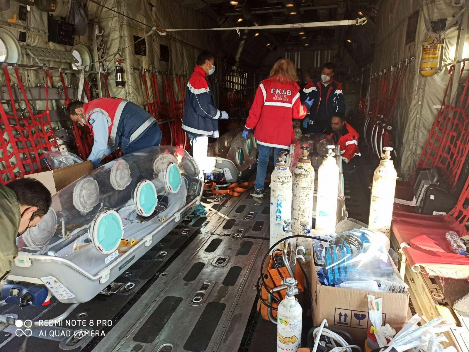 ΕΚΑΒ: Η πρώτη πετυχημένη αεροδιακομιδή από Καβάλα σε Αθήνα
