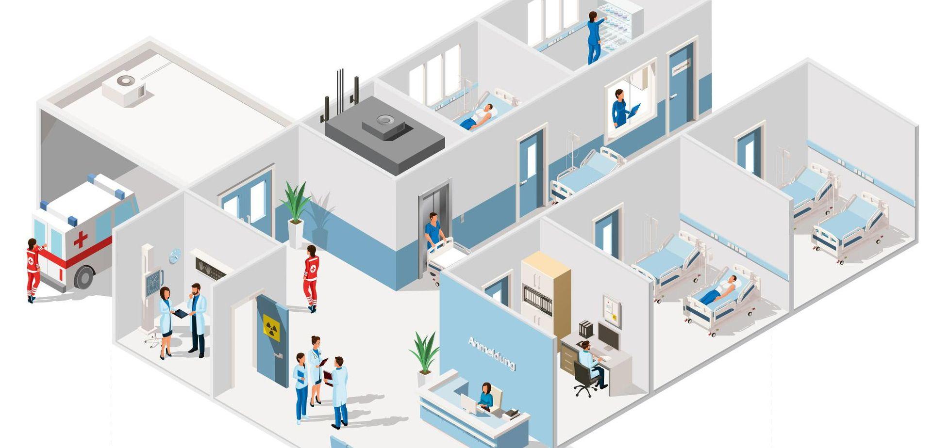 """""""Έξυπνο"""" νοσοκομείο Αυστραλία: Αναπτύσσει τεχνολογία αυτοματισμού"""