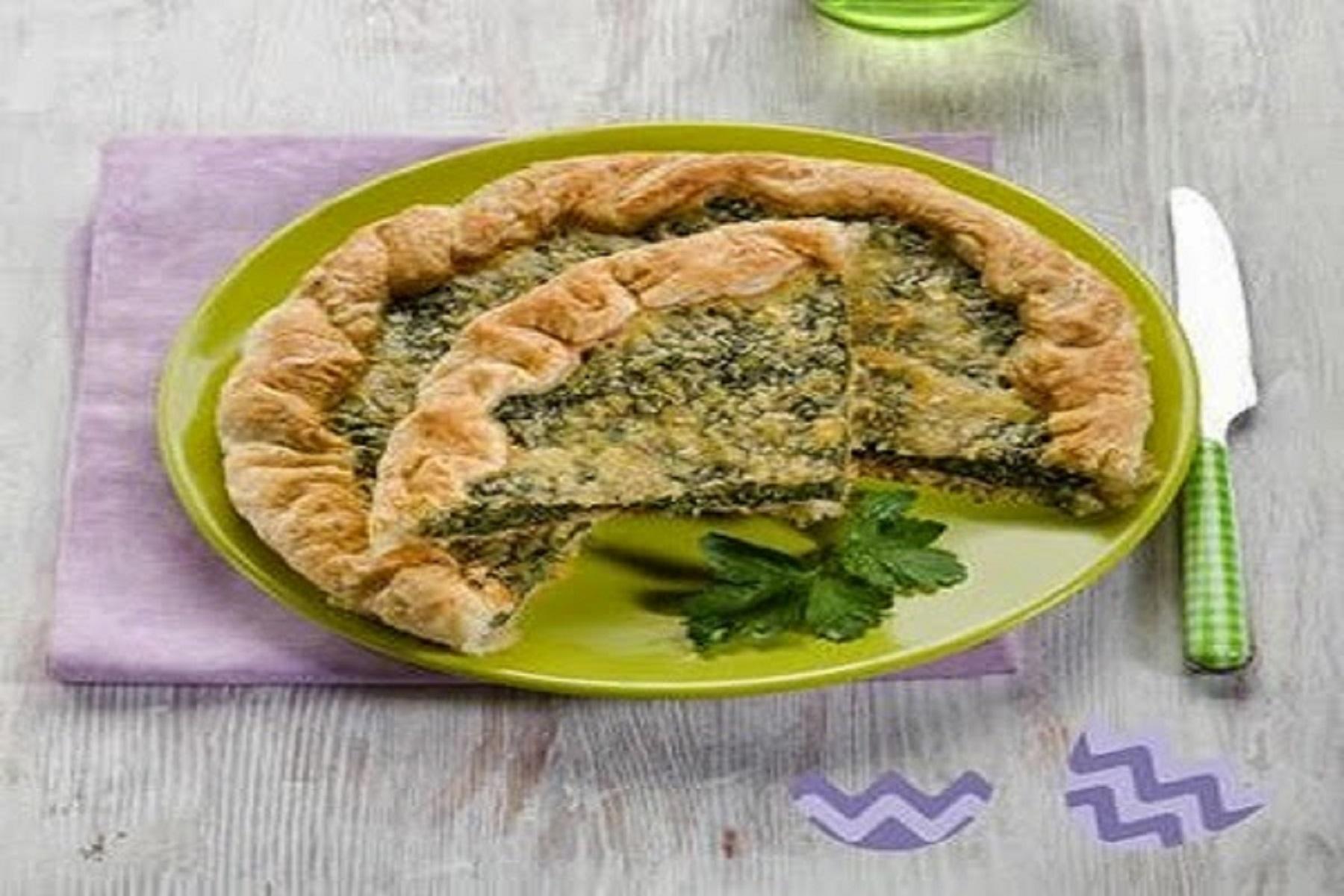 Συνταγή Πίτα: Ανοιχτή σπανακόπιτα – Δοκιμάστε τη σήμερα κιόλας