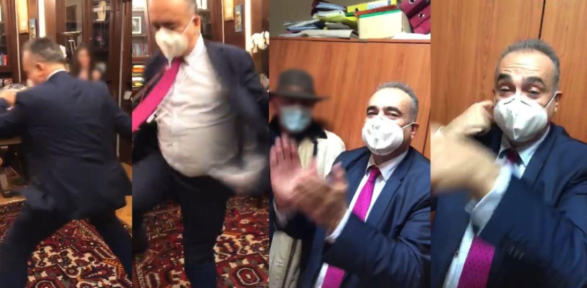 Δημήτρης Βερβεσός : Προκαταρκτική έρευνα για το πάρτι εν μέσω lockdown [vid, pics]