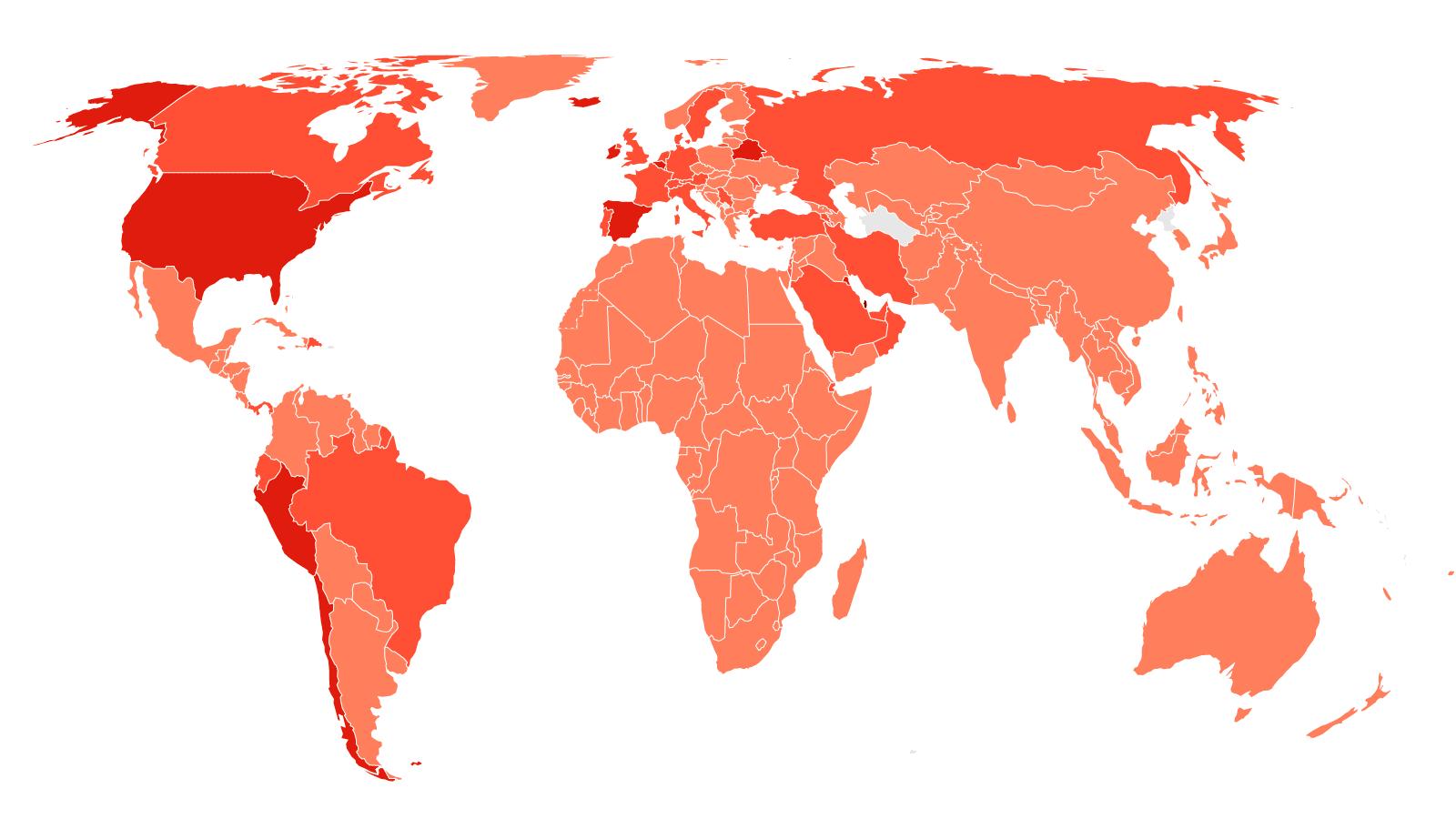 Ο χάρτης κορωνοϊού σε Ελλάδα:Νέα «έκρηξη» σε Αττική και Θεσσαλονίκη