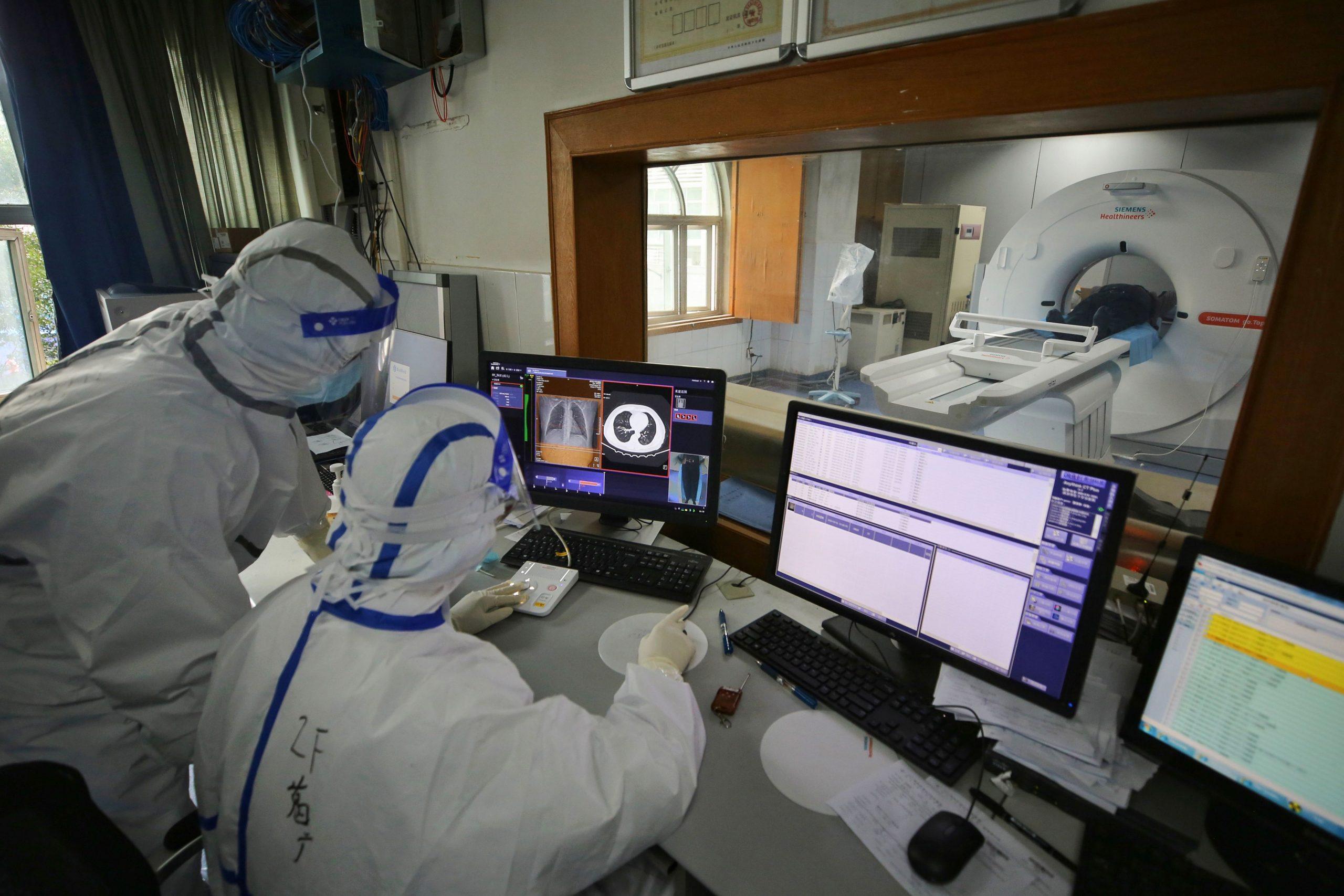 Υπερηχογράφος τεχνητή νοημοσύνη: Διαγνωστική ικανότητα για ασθενείς με κορωνοϊό