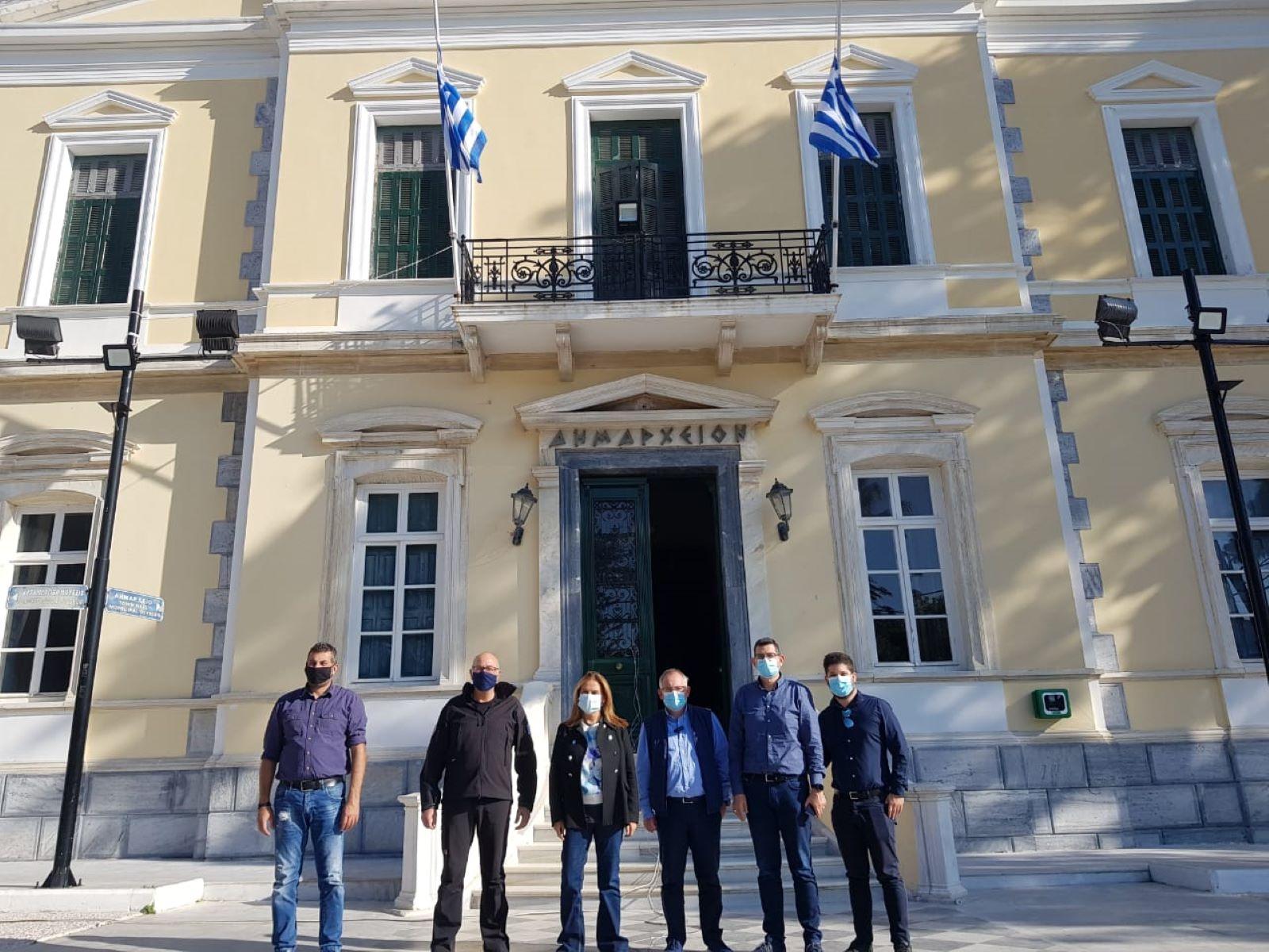 Ζωή Ράπτη υφυπουργός : Επίσκεψη στις Δομές Ψυχικής Υγείας Σάμου