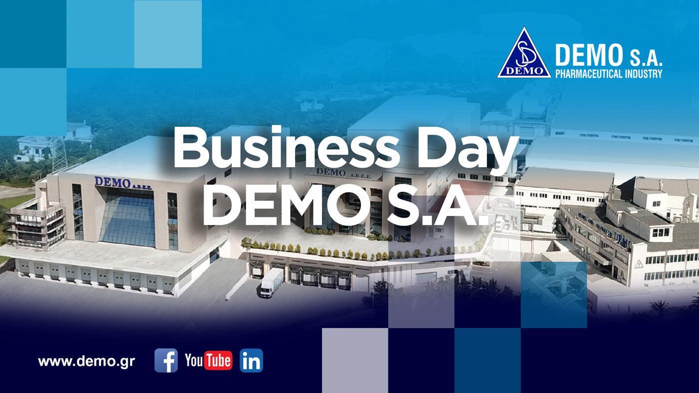 DEMO: Διοργάνωσε για 3η συνεχή χρονιά Business Day