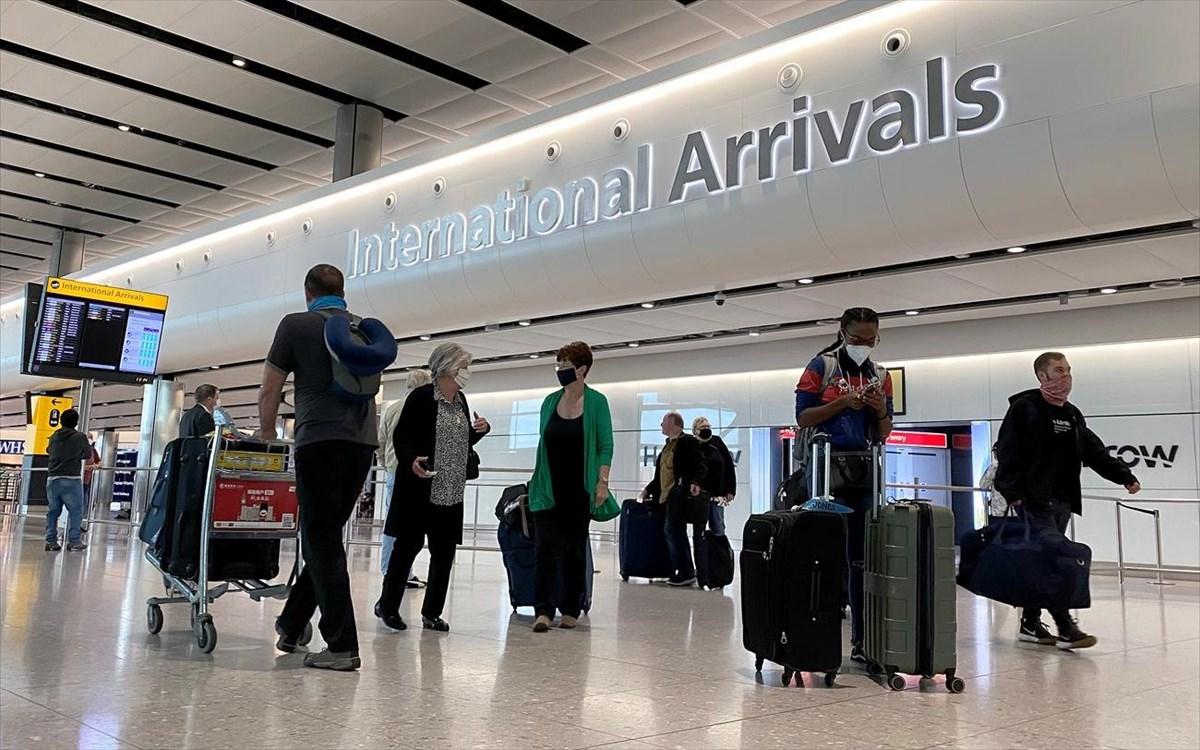 Αγγλία – μεταλλαγμένος κορωνοϊός: Σε καραντίνα 10 ημερών οι επισκέπτες από Μεγάλη Βρετανία