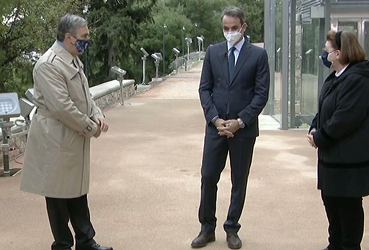 Κυριάκος Μητσοτάκης Ακρόπολη: Ο πρωθυπουργός εγκαινιάζει τον ανελκυστήρα
