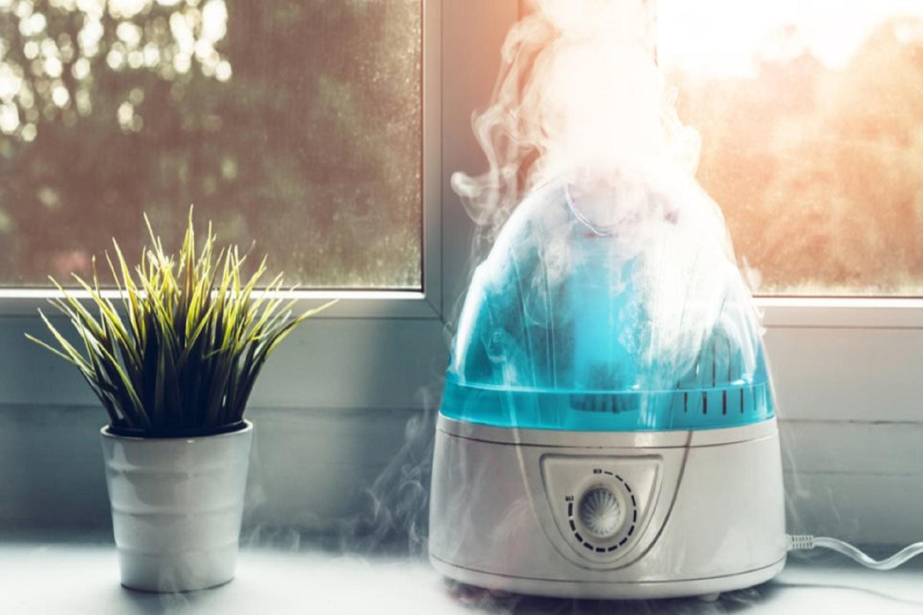 Υγραντήρας Κορωνοϊός: Όταν ο ξηρός αέρας εξηγεί την έξαρση της covid-19 σε κάποιο βαθμό