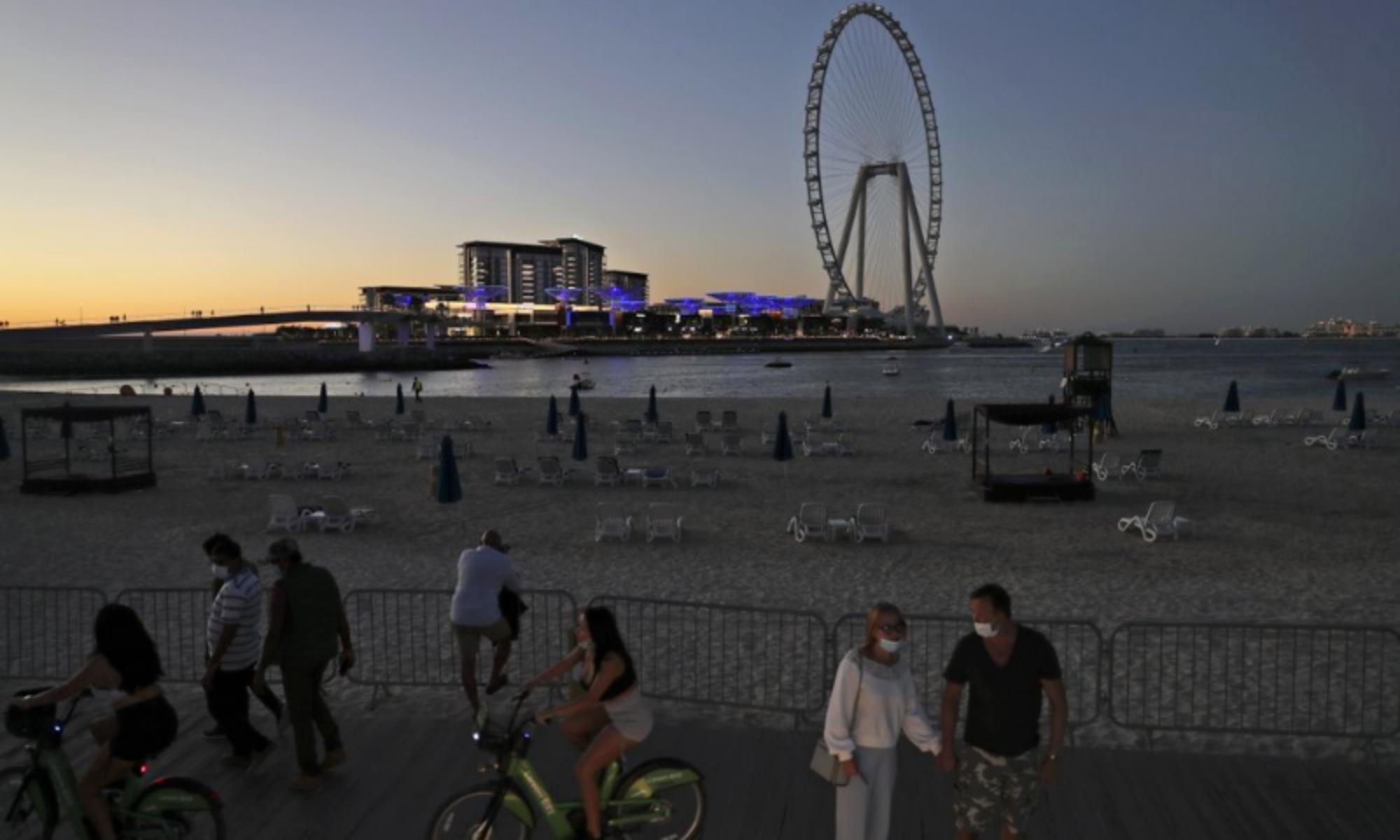 Ντουμπάι covid-19: Έξαρση κρουσμάτων μετά τα πάρτι εν μέσω πανδημίας
