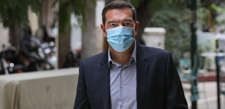 Αλέξης Τσίπρας: Σε καραντίνα ο πρόεδρος της αξιωματικής αντιπολίτευσης