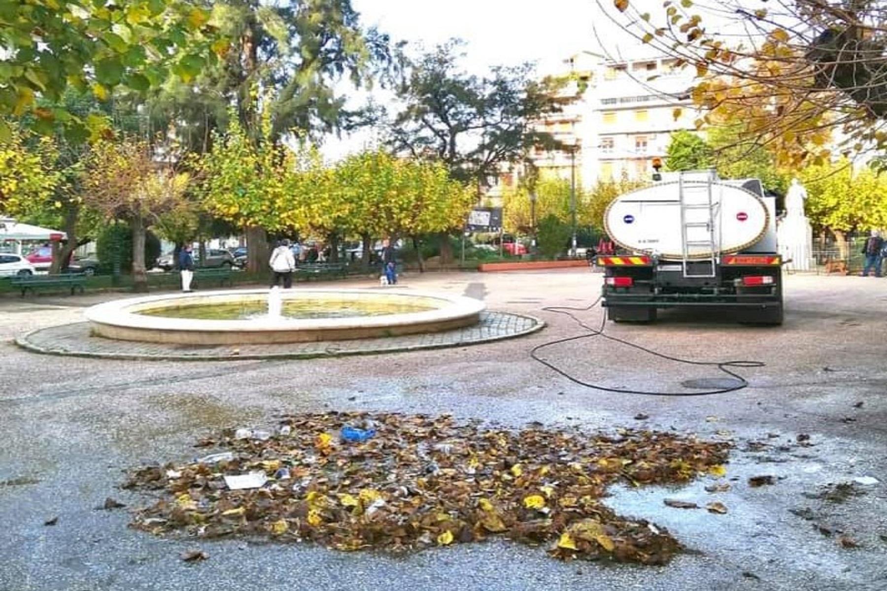 Αθήνα Καθαριότητα: Ο Μπακογιάννης στη μάχη για τον βαθύ καθαρισμό της πόλης