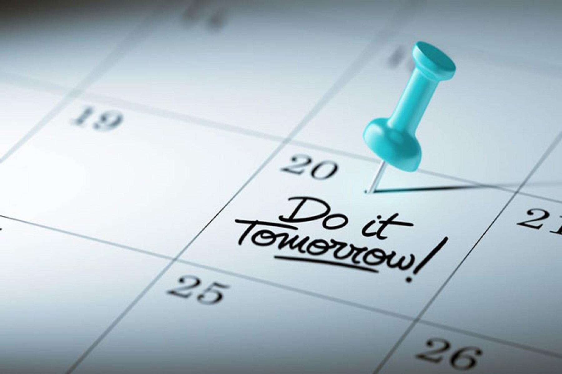 Αναβλητικότητα Κανόνας: Όταν η διαχείριση του χρόνου ισοδυναμεί με διαχείριση της ζωής