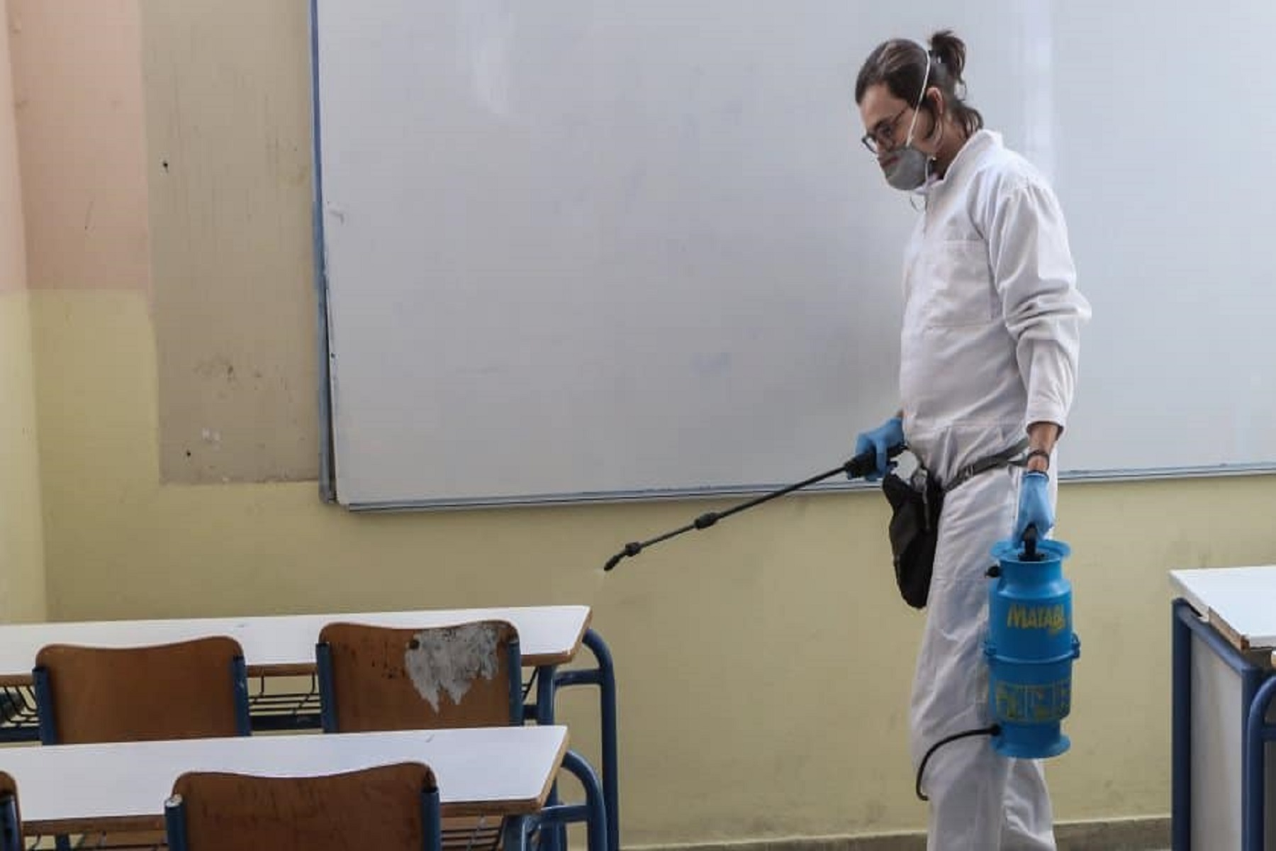 """Σαρηγιάννης Σχολεία: Αρνητικός ο καθηγητής για το """"άνοιγμα"""" της δευτεροβάθμιας εκπαίδευσης"""
