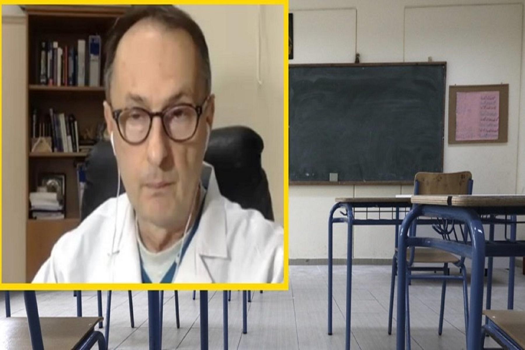 Σύψας Σχολεία: Προβληματισμός για την αύξηση κρουσμάτων, τη μετάλλαξη του ιού και το κρύο του χειμώνα