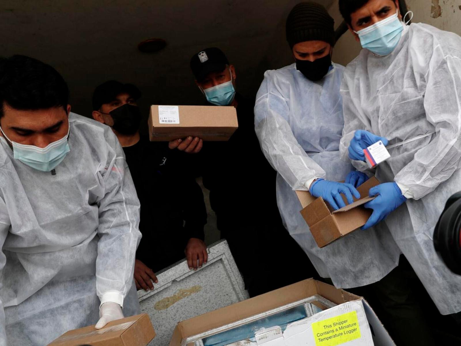 Κορωνοϊός Χαμάς: Εγκαινιάζει την εκστρατεία εμβολιασμού στη Λωρίδα της Γάζας