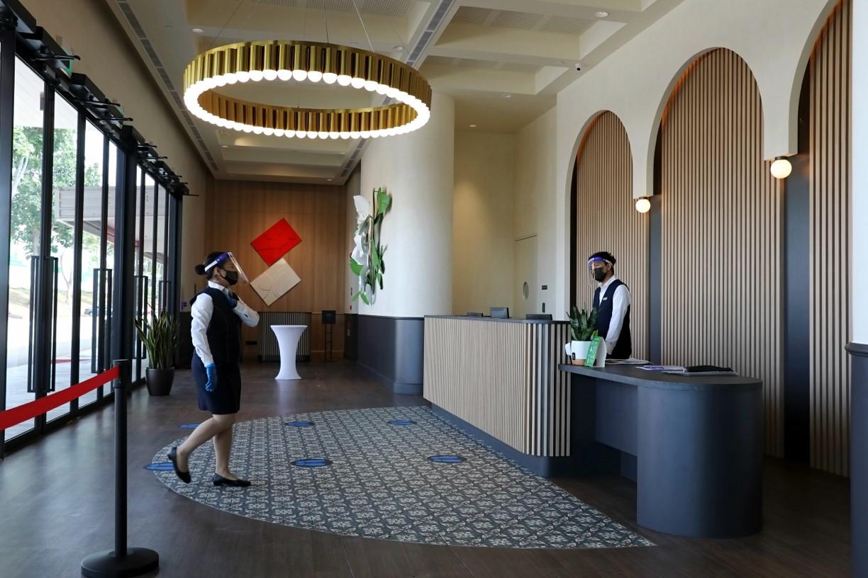 Κορωνοϊός Σιγκαπούρη ξενοδοχείο: Το πρώτο ασφαλές κατάλυμα και συνεδριακό συγκρότημα [pics, vid]