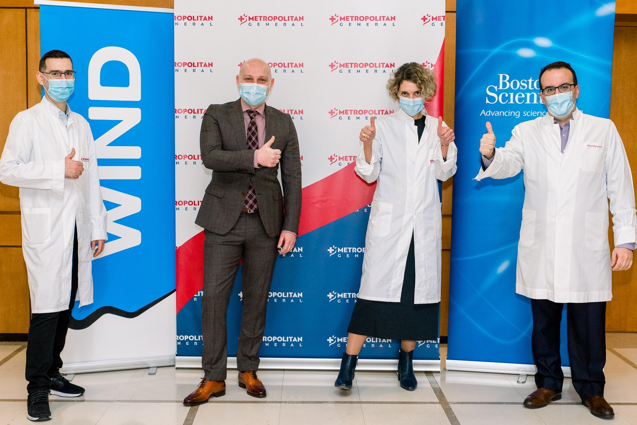 4.000 Ιατροί παγκοσμίως παρακολούθησαν  επέμβαση σε ζωντανή μετάδοση