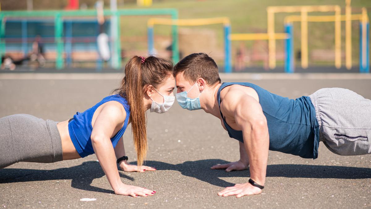 Γυμναστική χρήση μάσκας: Ασφαλής η χρήση μάσκας κατά την έντονη άσκηση